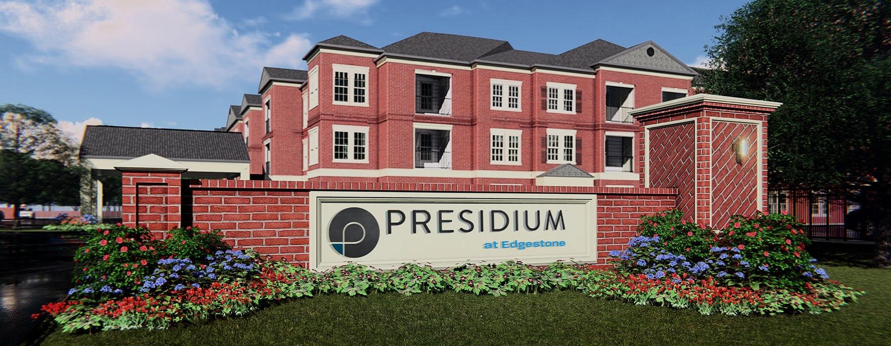 Presidium at Edgestone Exterior Building